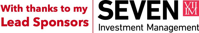 Our lead sponsors, Seven Investment Management