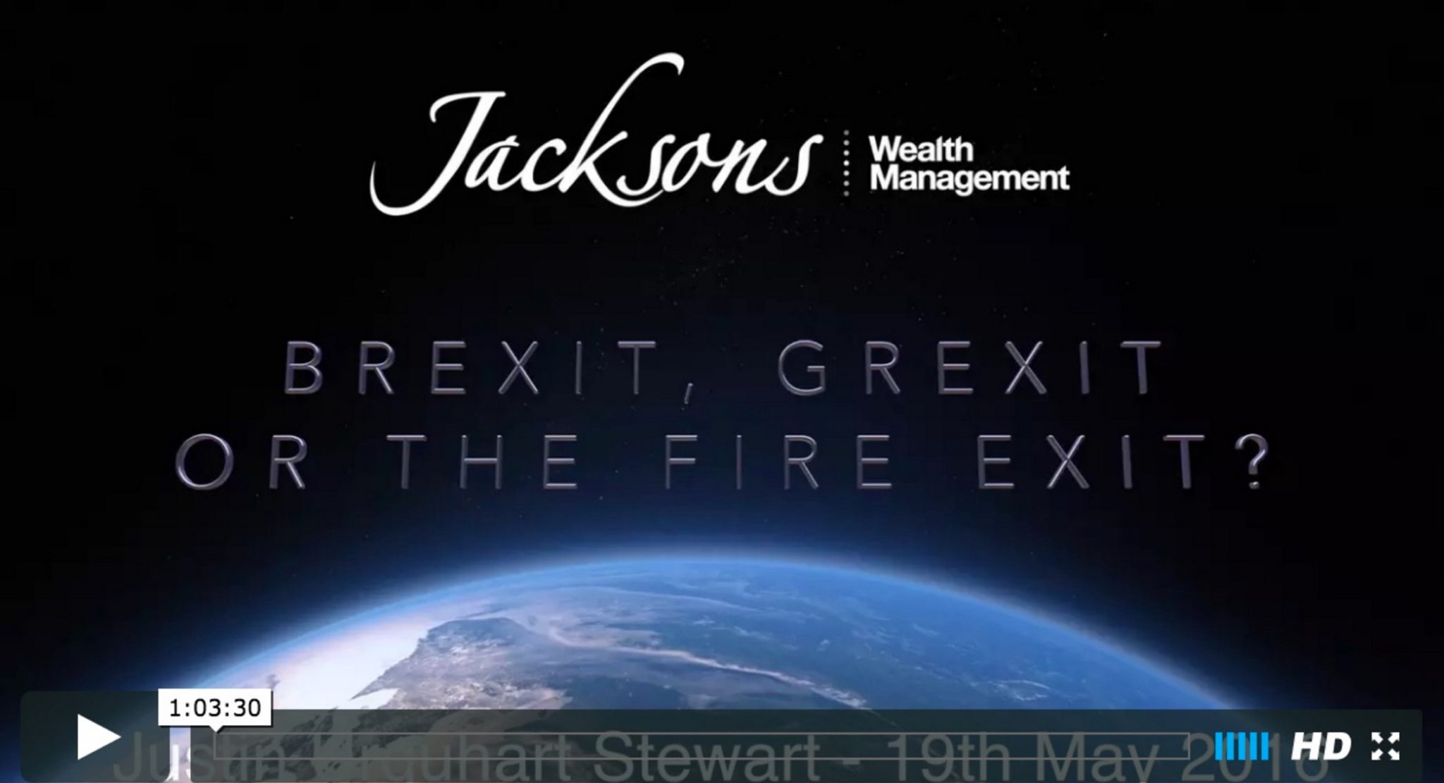 Brexit, Grexit or the Fire Exit