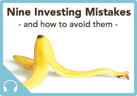 Session 43 Thumbnail|Podcast 43 Nine Investing Mistakes