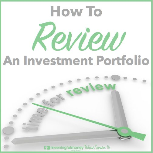 Review an investment portfolio|Review an investment portfolio
