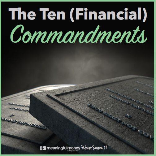 MMP097:  The Ten Financial Commandments