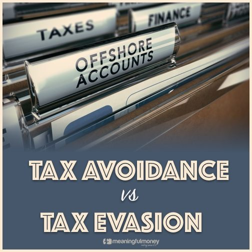 tax avoidance vs tax evasion How is criminal tax evasion different from non-criminal tax avoidance, and what  are the consequences what is considered to be an illegal.