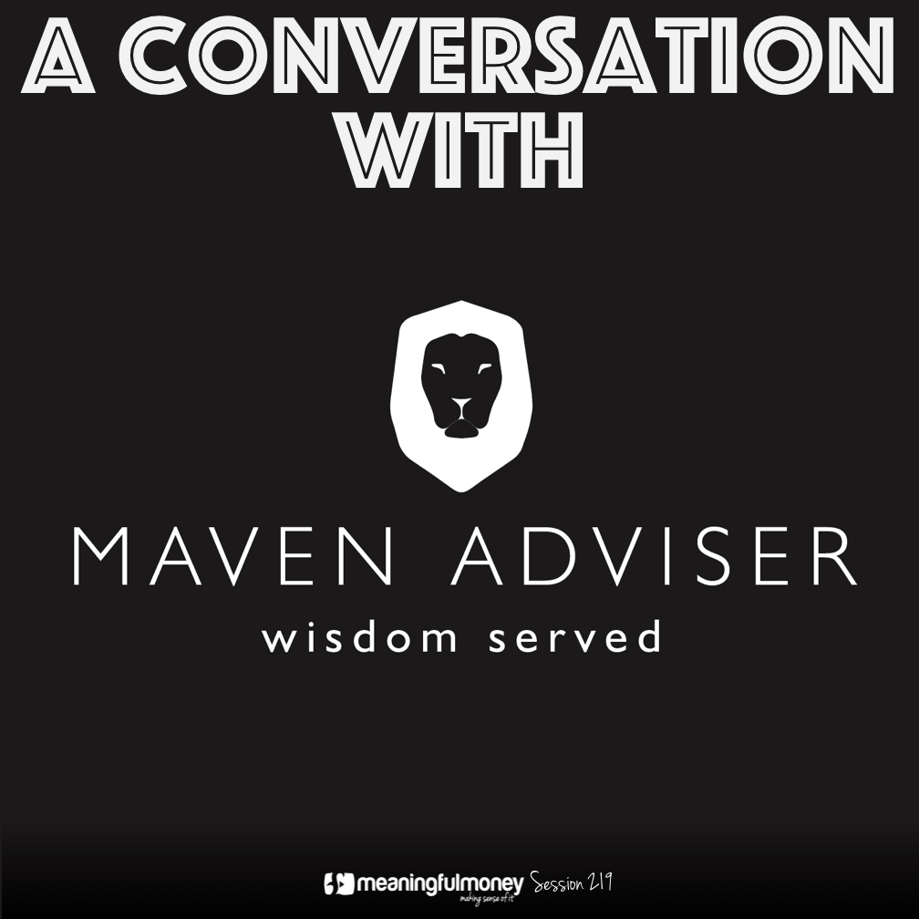 MMP219: The Maven Adviser