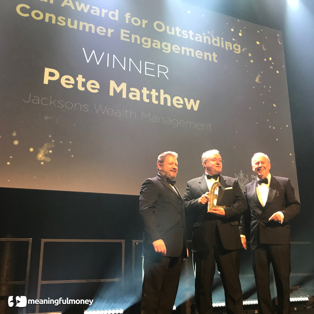 Winner! PFS Special Award for Outstanding Consumer Engagement