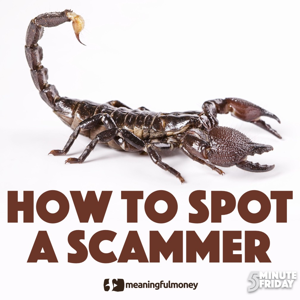 How to spot a scammer – 5MF013