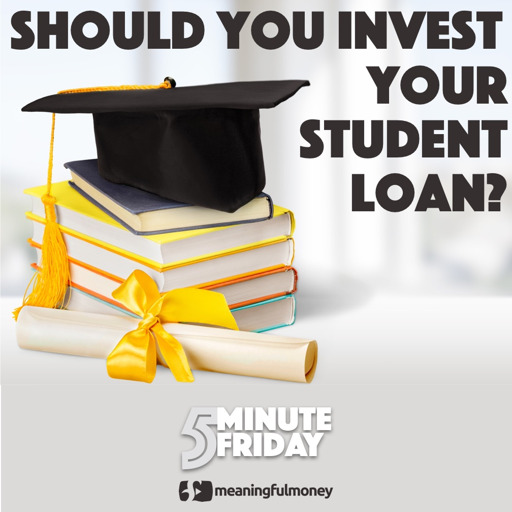 Should you invest your student loan? 5MF017