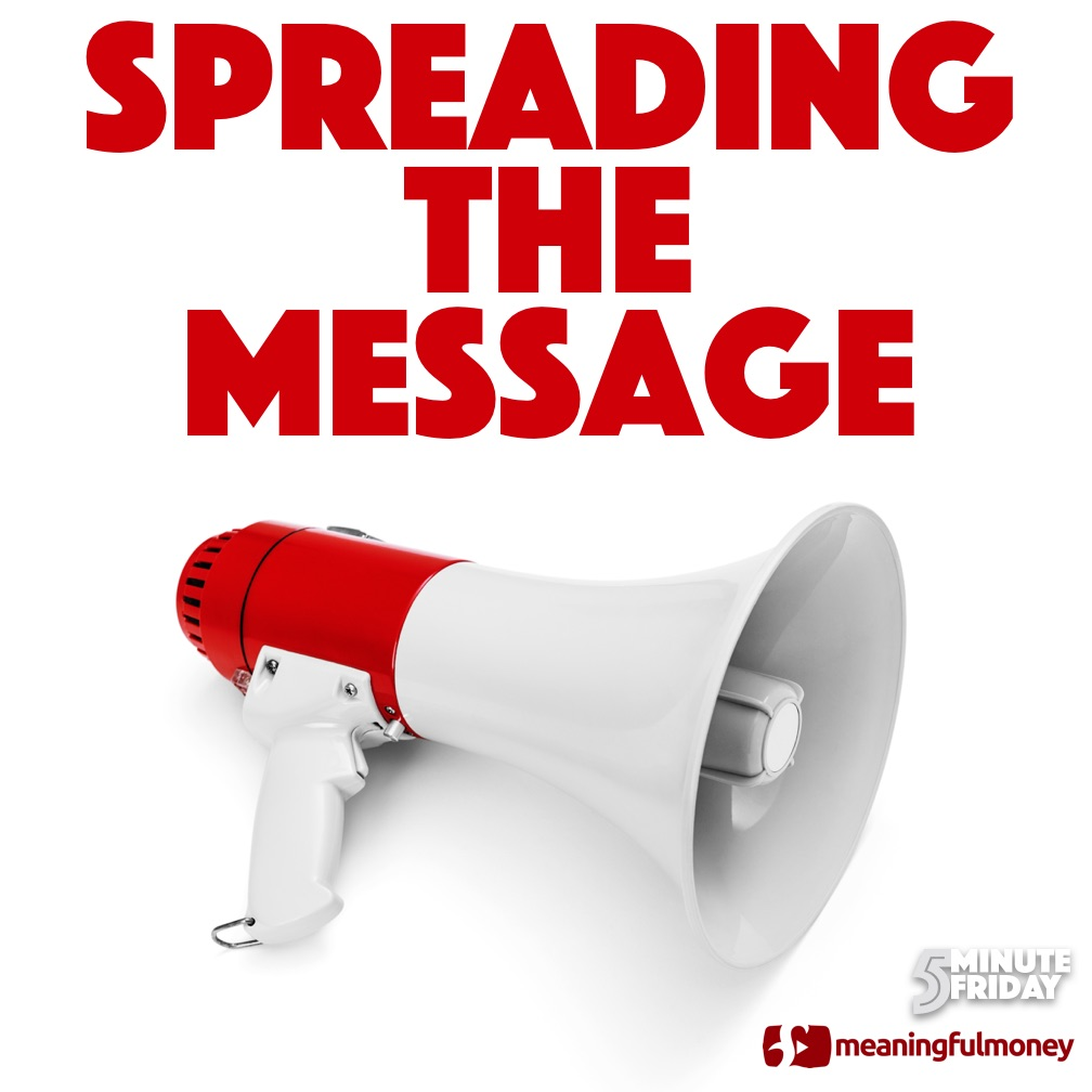 Spreading The Message – 5MF042