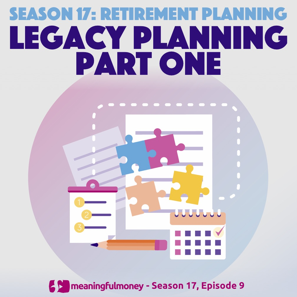 Legacy Planning - Part One